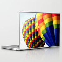 balloons Laptop & iPad Skins featuring Balloons  by Rob Hawkins Photography