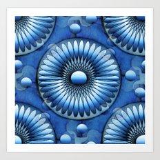 Roundelle Motifs Art Print