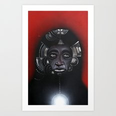 Anderson & The Tribe of Man Art Print