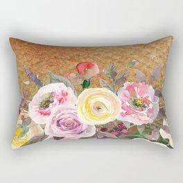 Flowers bouquet #43 Rectangular Pillow