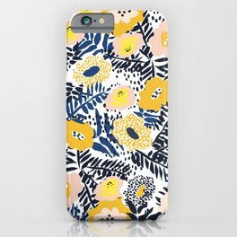 Happy life and fresh design: Summer greetings iPhone Case