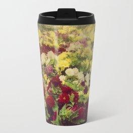 Vintage Pretty Flowers Travel Mug