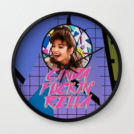 Pretty Woman (Kit Deluca Edition) Wall Clock
