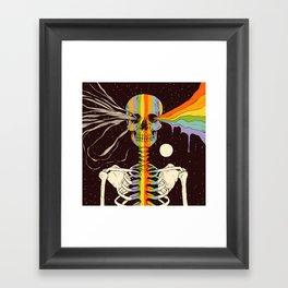 Dark Side of Existence Framed Art Print