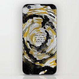 i fell in love with the sun iPhone Skin