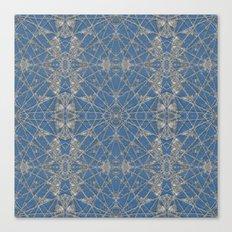 Frozen Blue Canvas Print