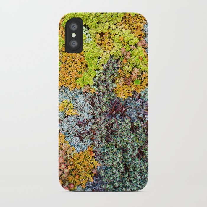 Wall of Succulents iPhone Case