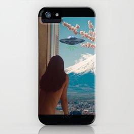 UFO GTFO iPhone Case