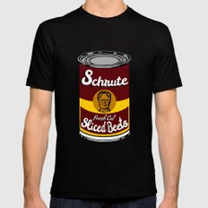 Schrute Fresh Cut Sliced Beets  |  Dwight Schrute  |  The Office Black MEDIUM Mens Fitted Tee