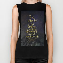 To the stars who listen...A Court of Mist and Fury (ACOMAF) Biker Tank