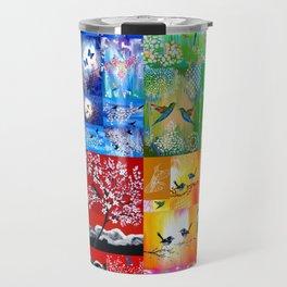 Rainbow Colors Travel Mug
