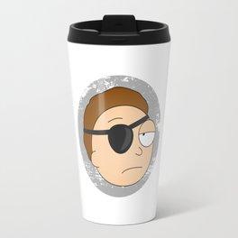 Eyepatch Morty - The Rickest Morty Travel Mug