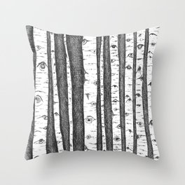 make me a witness (wasatch, utah) Throw Pillow