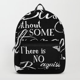 Strange Skullerflies - EA Poe Quote Backpack