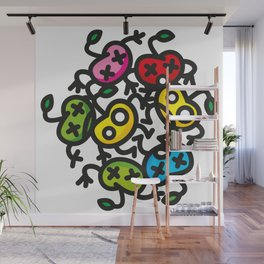 apple color crazy Wall Mural