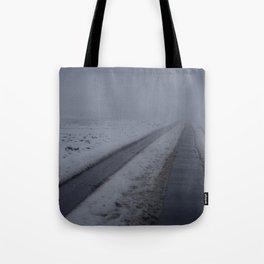 Foggy winter day III Tote Bag