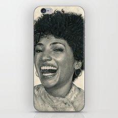 Jasika Nicole Traditional Portrait Print iPhone & iPod Skin