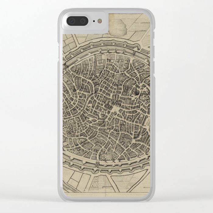 Bruges 17th Century Clear iPhone Case