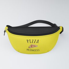 Pizza Princess Funny Quote Fanny Pack