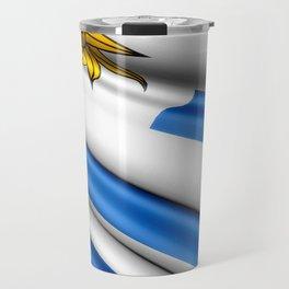 Flag of Uruguay Travel Mug