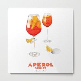 Aperol Spritz Metal Print