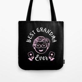 Best Grandma Ever funny Granny Family Tote Bag