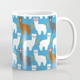 Pink Hair Alpacas I Coffee Mug