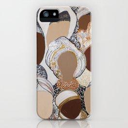 Women in White, Women in Diversity by Kelly Crosby iPhone Case