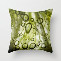 lime Throw Pillows featuring Lime by Ryan Zimmermann