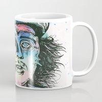 willy wonka Mugs featuring Wonka by Paul Granese