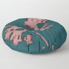 2020 Fall/Winter 01 Teal Floor Pillow