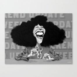 Roseanne Roseannadanna Canvas Print