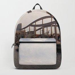 Port Vell sunset - Barcelona Backpack