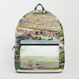 Paris World Fair 1900 Backpack