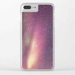 Aurora Borealis 3 Clear iPhone Case