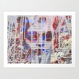 Bowery and Great Jones Art Print