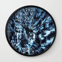 Circuit Board 14 Wall Clock
