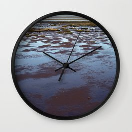 Low Tide at Southport - UK Wall Clock