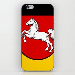 Flag of Niedersachsen (Lower Saxony) iPhone Skin