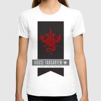 daenerys targaryen T-shirts featuring House Targaryen Sigil V2 by P3RF3KT