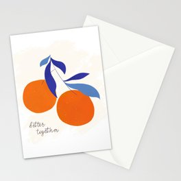 Darling Clementines Better Together Stationery Cards