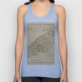 Map Of Tobago 1776 Unisex Tank Top