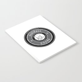 Whiskey & Cigars (Grey) Notebook