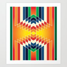 Navajo 9 Art Print