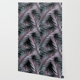 Palm Leaves - Cali Vibes #3 #tropical #decor #art #society6 Wallpaper