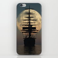 ship iPhone & iPod Skins featuring Ship by samedia