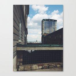 Budapest Buildings Canvas Print