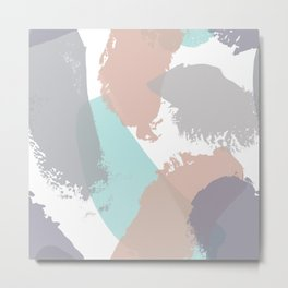 Brush strokes composition #3 Metal Print