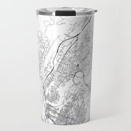 Minimal City Maps - Map Of Chattanooga, Tennessee, United States Travel Mug
