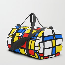 Mondrian Style 2 Duffle Bag